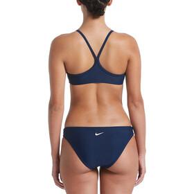 Nike Swim Essential Racerback Bikini Set Damen midnight navy